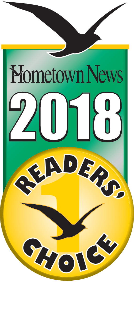 2018 Hometown News Readers Choice Award
